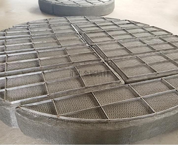 脱硫塔用丝网除沫器