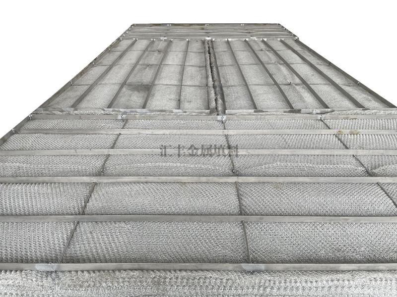 方形玻璃纤维混编除沫器